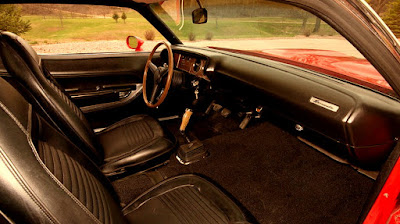 1971 Plymouth Barracuda Cuda Hemi Sports Coupe Interior Dashboard