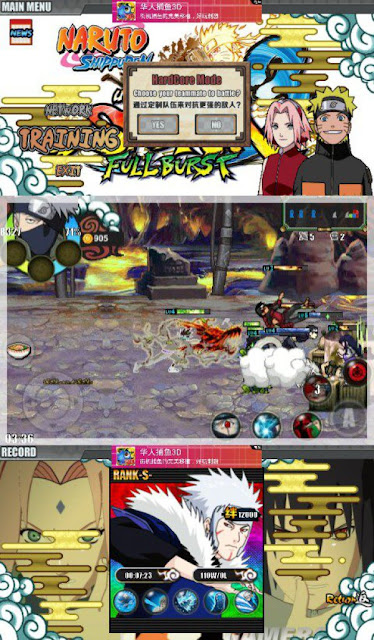 Naruto Shippuden Ultimate Ninja Storm 4 v2.0 Mod APK + Road to Boruto + Kumpulan NSUNS Mod 2017