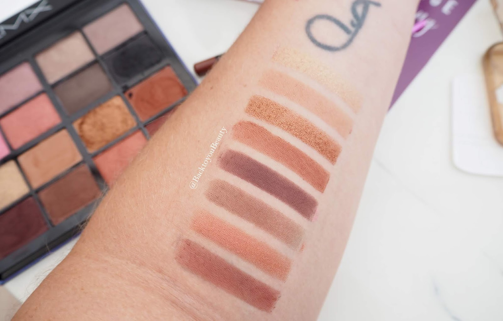 Lmx Beauty Eye Palette Swatches 2