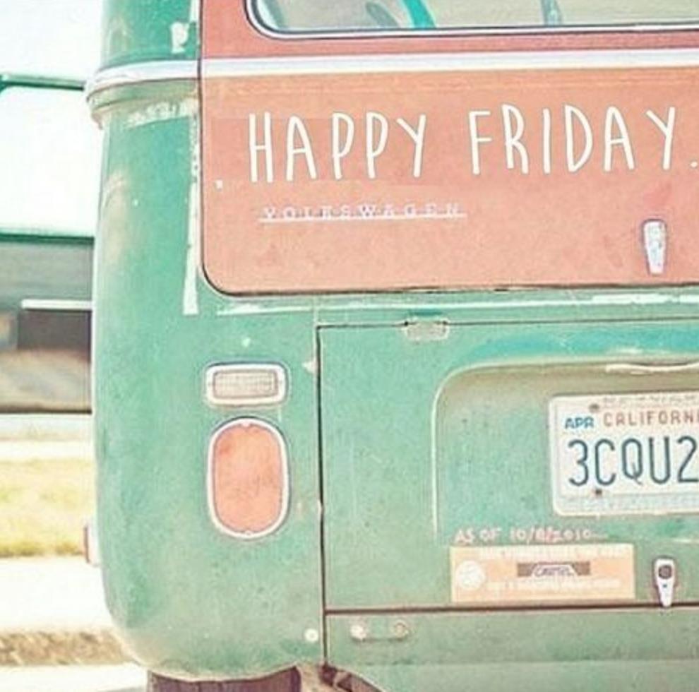 Oh Hey Friday! {V.19}