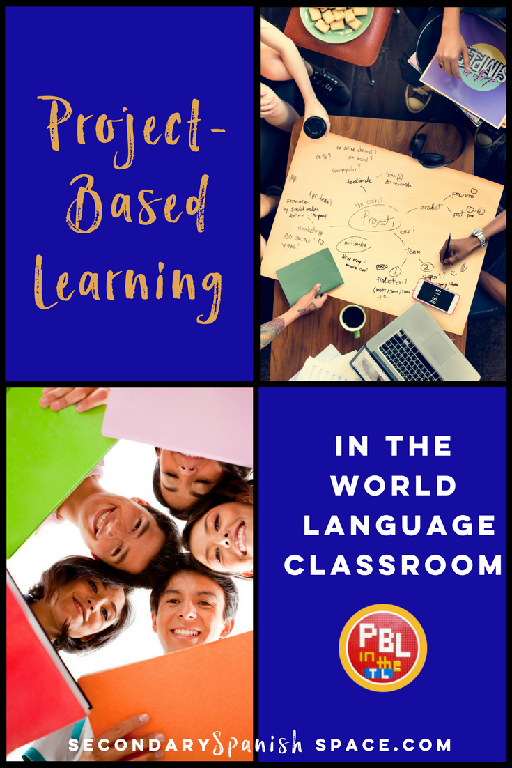 project-based learning in the spanish classroom | secondary spanish