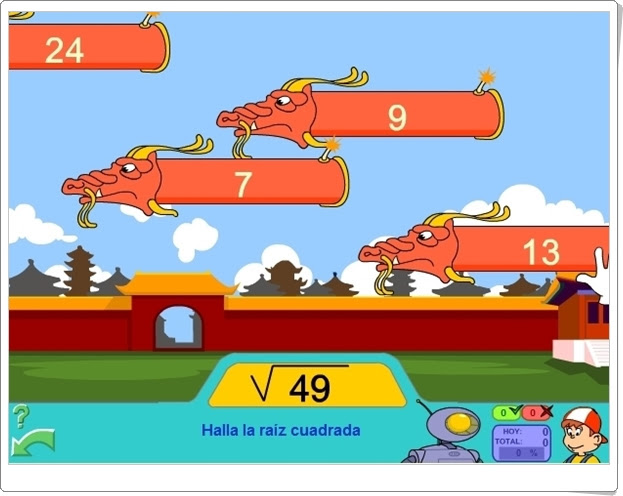 http://www.pipoclub.com/juegos-para-ninos-gratis/juego-raiz-cuadrada.html