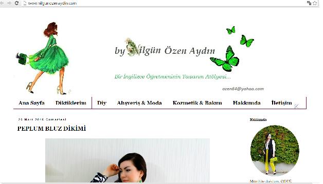 www.nilgunozenaydin.com-blog tasarımı-blog tasarım yapımı-blogger tasarımı