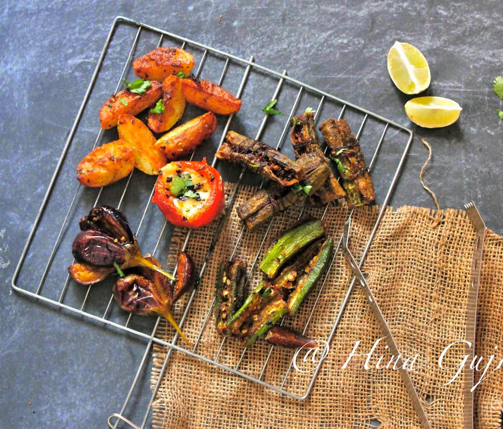 Best Indian Food Recipes : Tawa Bhaji Recipe (Tawa Fry Vegetables)