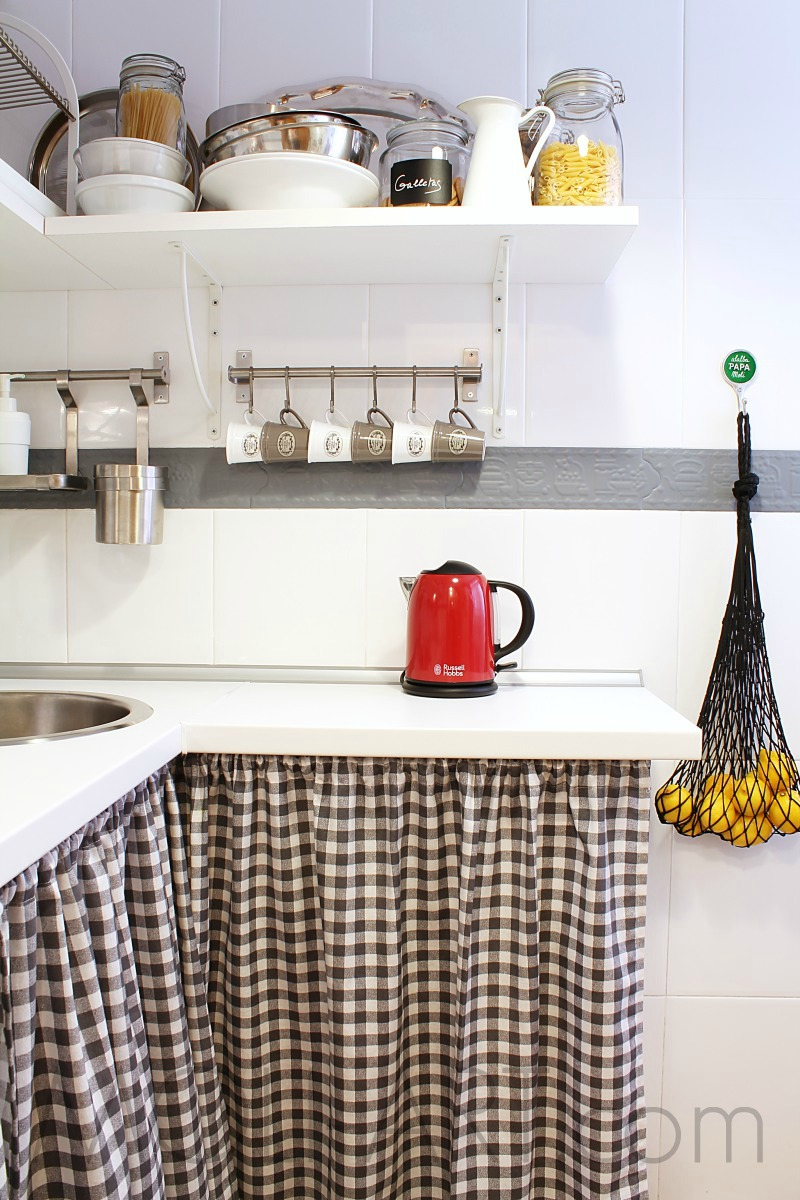 Decoraci n mi cocina shabby chic moli art beauty blog - Montar cocina ikea ...