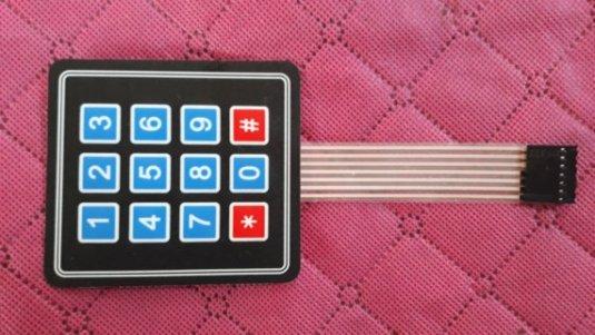 How to Use a Custom Keypad for Arduino - ElectronicDIYs