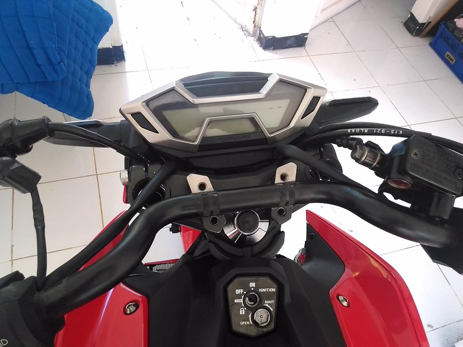 Mari Berbagi Pasang Stang Yamaha Byson Ke All New Cb150r Baut Jalu L Pengikat