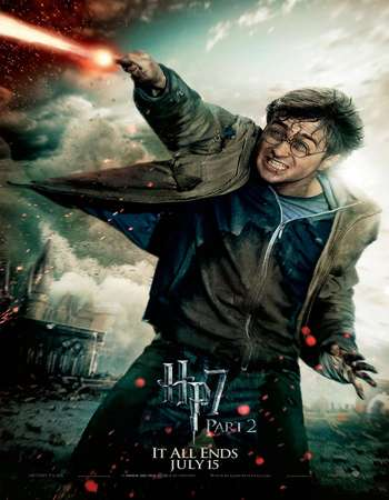 Harry Potter and the Deathly Hallows: Part 2 2011 Hindi Dual Audio BRRip Full Movie Download
