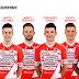 Giro d'Italia: Team Androni Giocattoli's squad