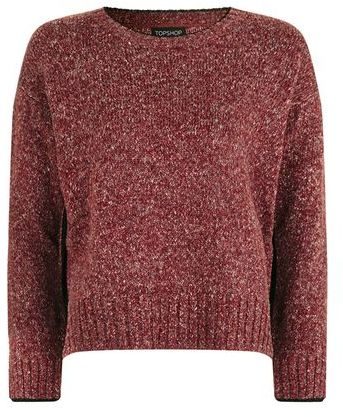 TopShop Bright Trim Marl Jumper