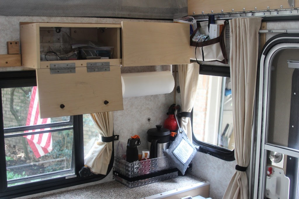 Ruffing It Four Wheel Camper Modifications Part Two
