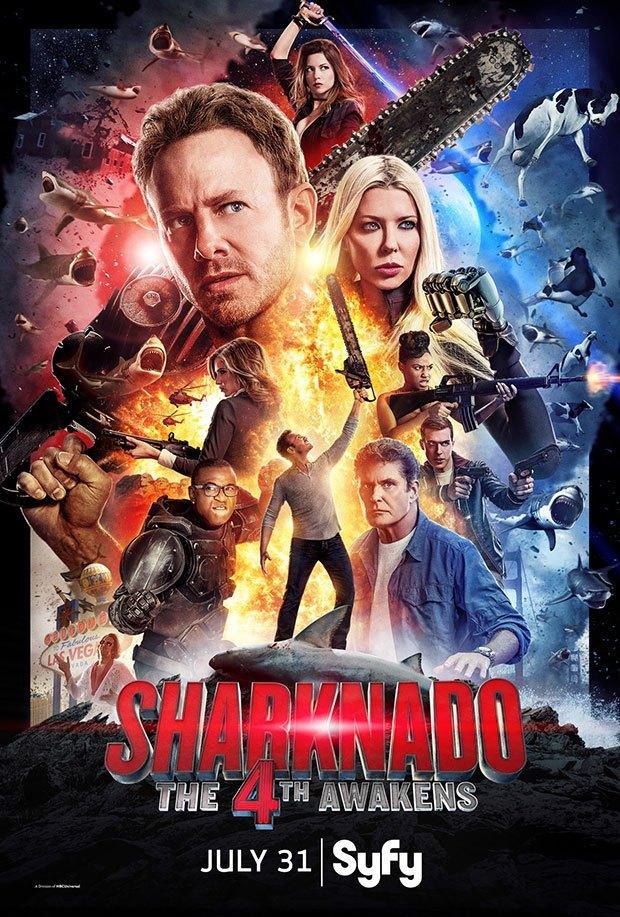 Xem Phim Cá Mập Cuồng Loạn 4 2016