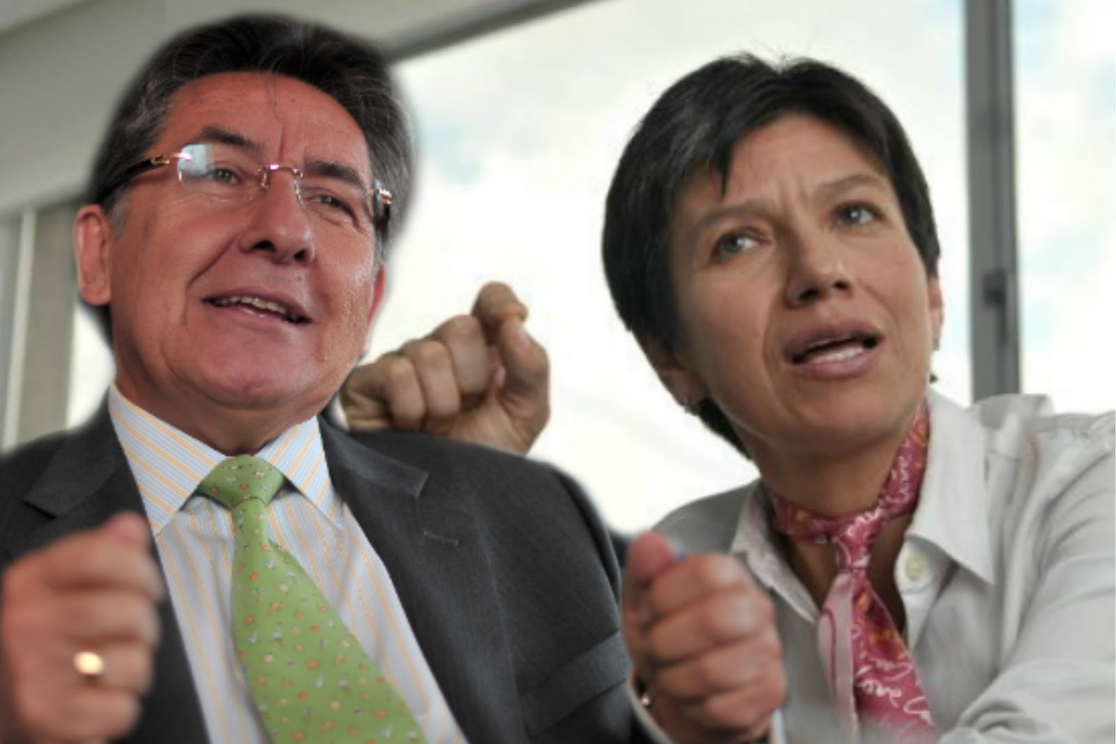@ClaudiaLopez alerta que Vargas Lleras utiliza al Fiscal para perseguir a opositores