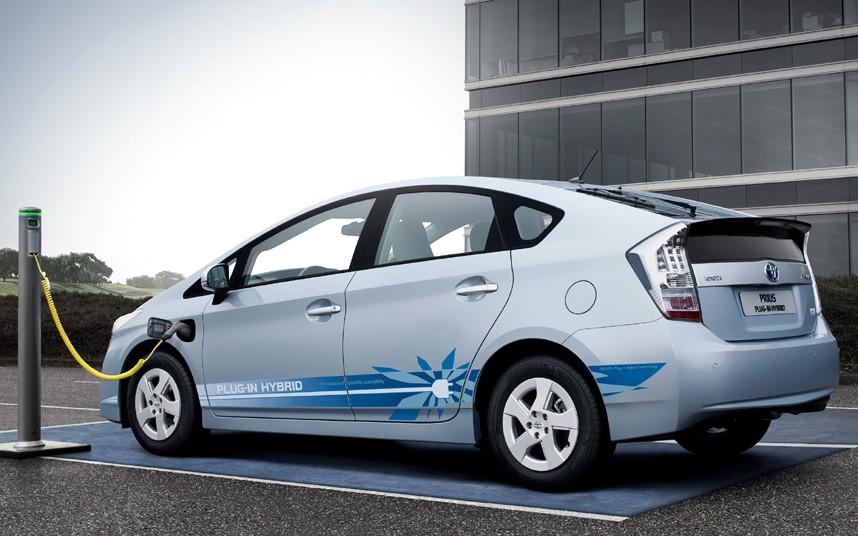 Toyota Prius Plug In Electric Hybrid Car