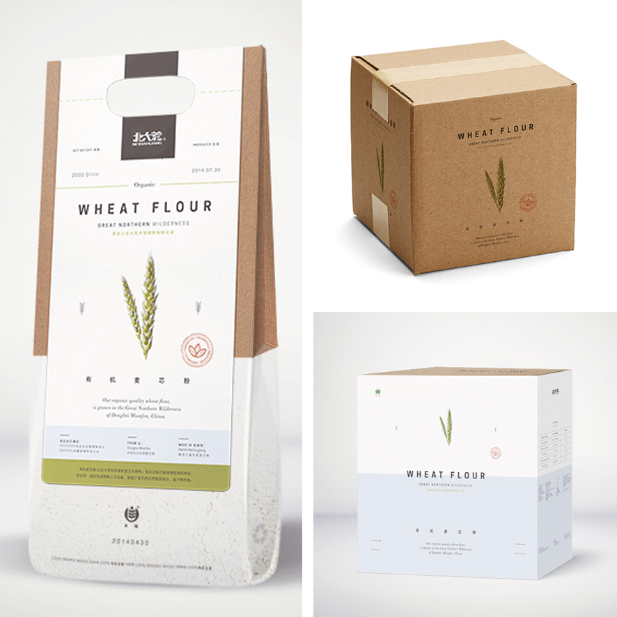 FLOUR PACKAGING • the Round Button blog