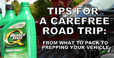 Tips for a Carefree Road Trip #CanadianTire #QuakerState #CollectiveBias