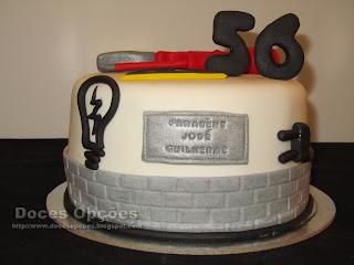 bolos aniversário electrecista doces opções