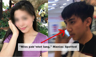 """Miss pakantot lang."" Woman Can't Believe This Was Happened To Her in A Mall"