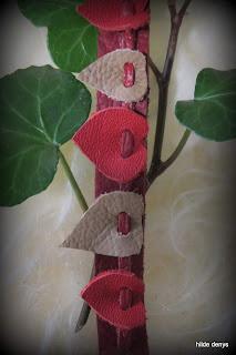 LoveLea's detail of the 5 hearts