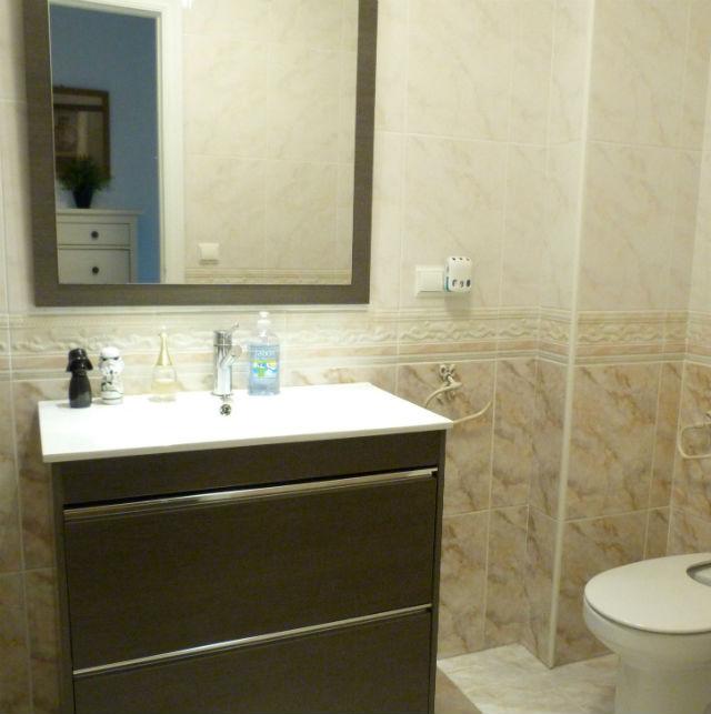 reforma de mi baño sin obras, antes y después. Renovar el baño sin obras