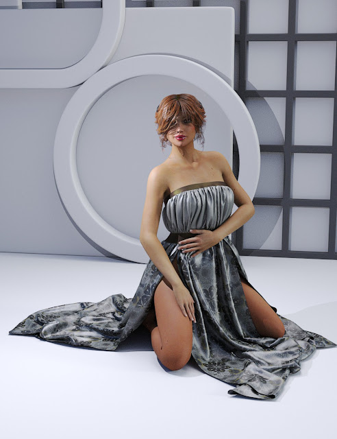 Elegant Night Dress Genesis 3 Female