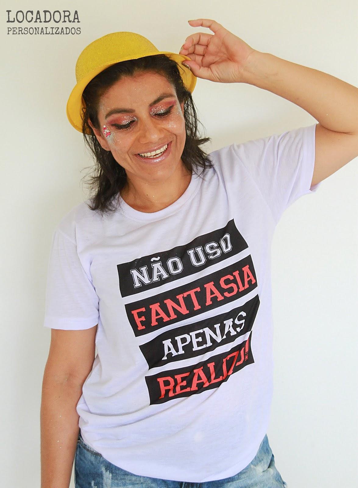 Camisas divertidas, estilosas e que vai fazer você arrasar nesse #carnaval2019. Confira o novo editorial de moda que eu fiz para a Locadora personalizados. Acesse agora!