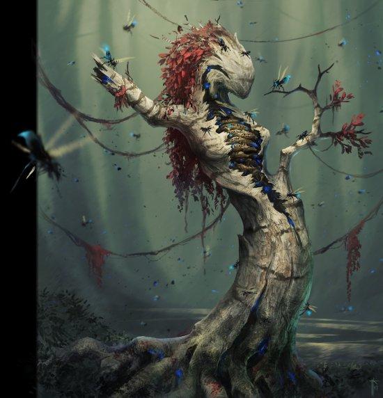 Jens Kuczwara arte artstation ilustrações fantasia ficção científica sombria games