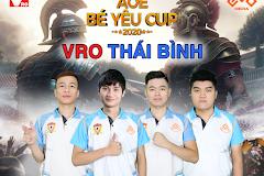 Đơn vị VRO tài trợ độc quyền cho clan Thái Bình trong mùa giải AoE Bé Yêu Cup 2020