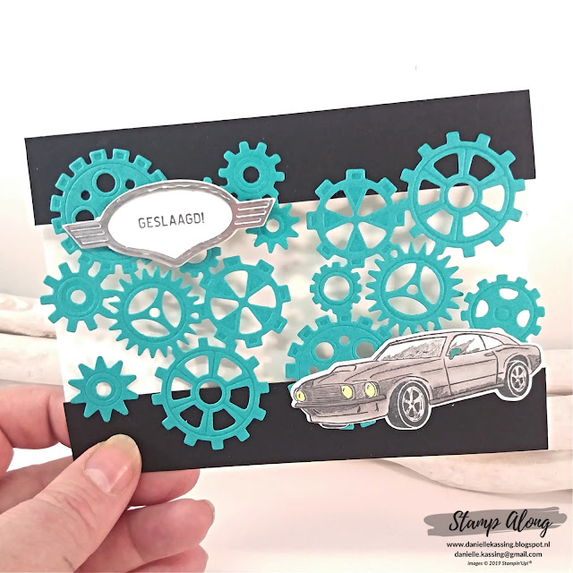 Stampin' Up! Geared up garage - stamperschallenge