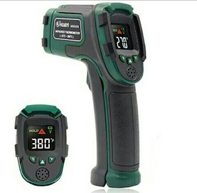 Non-Contact Thermometer - Handheld Digital Temperature Gun