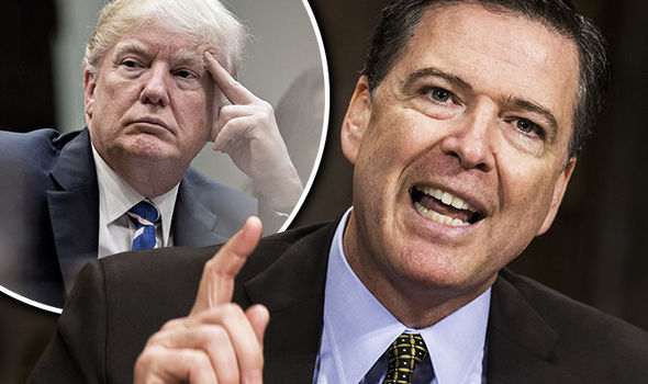 "When will you Start Saying ""Thank You"" for Firing James Comey -- President Donald Trump"
