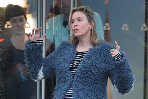 "A pregnant ""Bridget Jones ' Baby"": first photo of Renee Zellweger with filming"