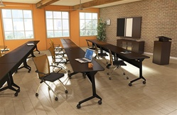 Mayline training room furniture
