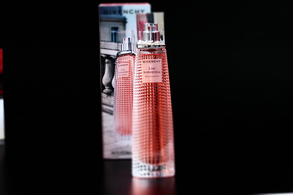 givenchy live irrésistible parfum femme avis test