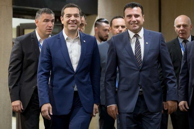 Για «Μακεδονο-ελληνική» λύση κάνει λόγο η κυβέρνηση Ζάεφ