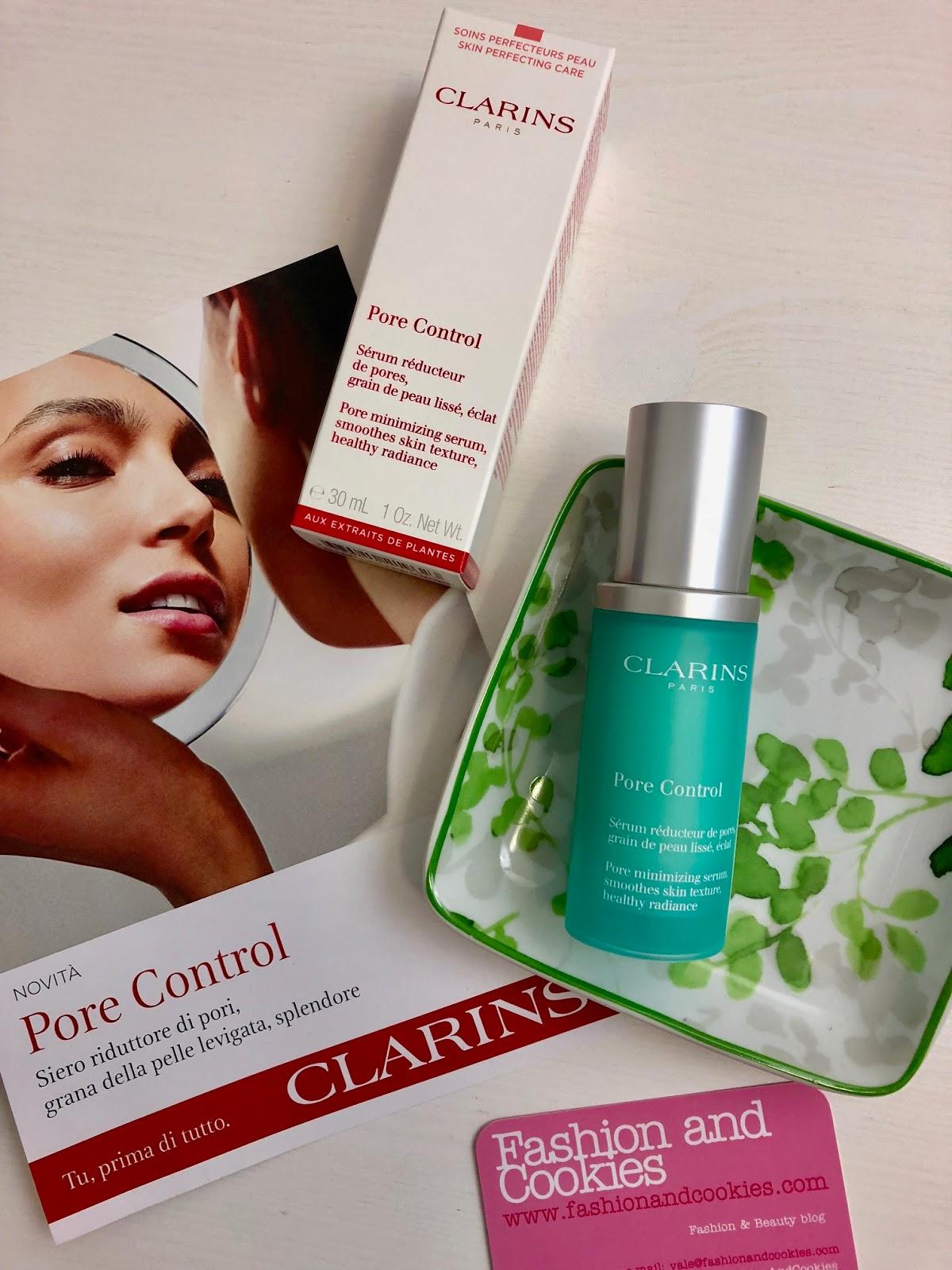 Clarins Pore Control per una pelle a prova di selfie su Fashion and Cookies beauty blog, beauty blogger