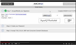 Authentisign Electronic Document Signing