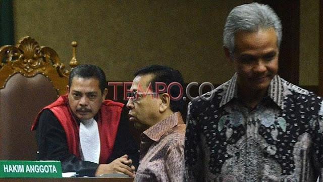 Ganjar Pranowo Sebut Yasonna Laoly Ikut Kawal Anggaran E-KTP
