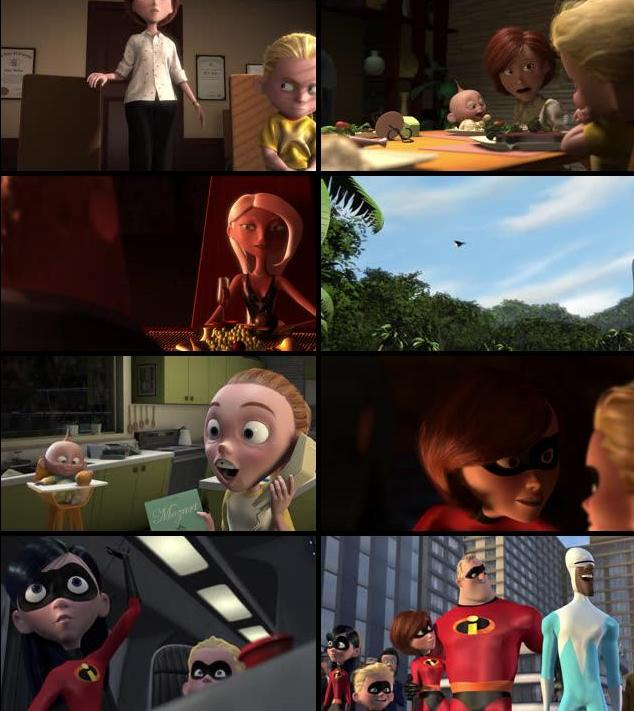 The Incredibles 2004 Dual Audio Hindi 720p BluRay