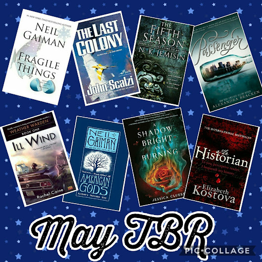 May TBR Lineup