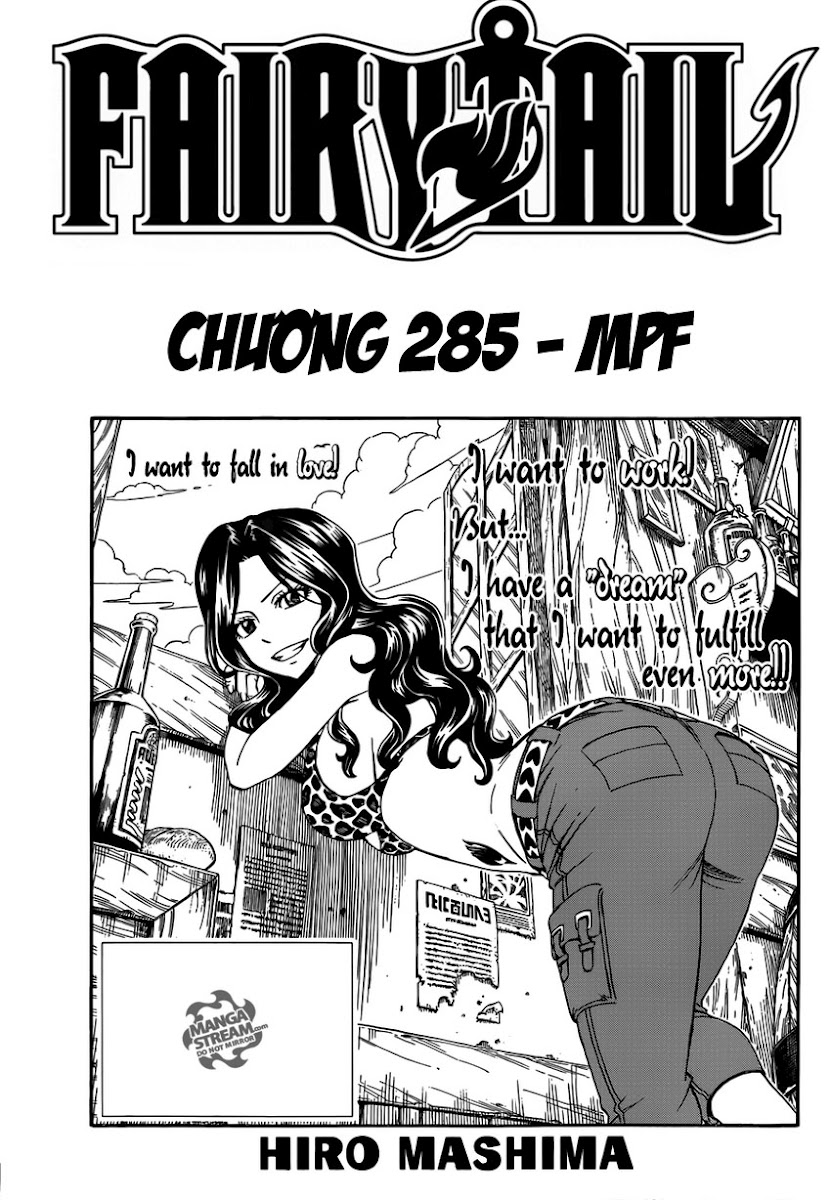 Fairy Tail Chap 285