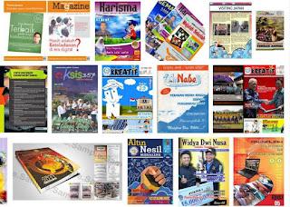 contoh majalah