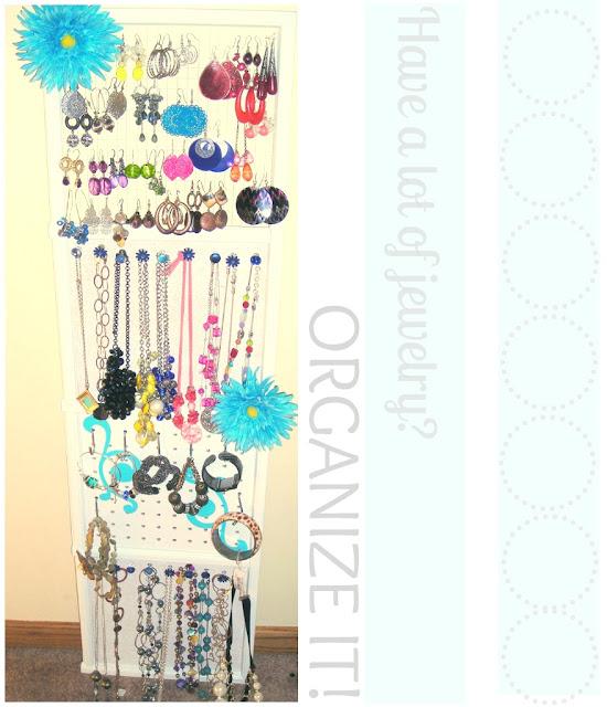 Make jewelry organizer