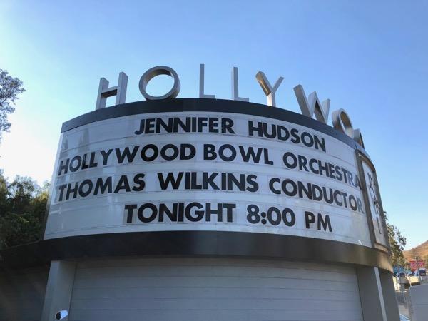 Jennifer Hudson Hollywood Bowl concert