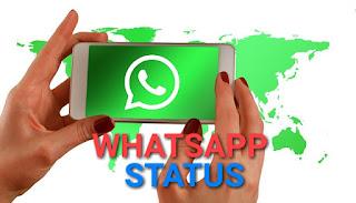 Whatsapp status.