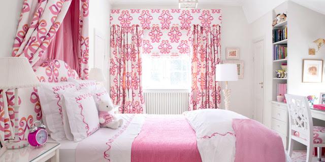Cara Desain Interior Kamar Tidur Nuansa Pink
