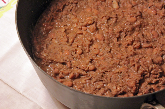 Vegan Taco Cleanse Refried Beans