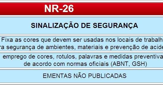 GASPARINI ASSESSORIA E CONSULTORIA   NR-26 SINALIZAÇÃO DE SEGURANÇA - GHS -  ABNT 7b4a3696a9