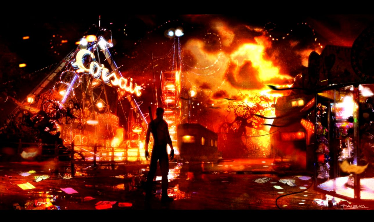 Dmc Devil May Cry Background Free Hd Wallpapers