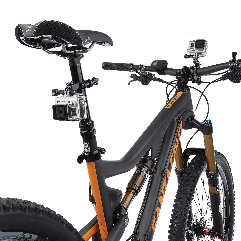 Clamp Holder Stang Motor dan Sepeda 3 Way Pivot Arm